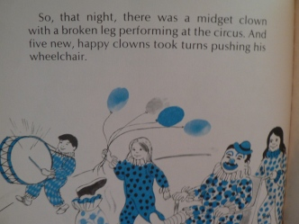 The Final Page of The Mystery of the Midget Clown