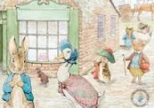 Public Domain Peter Rabbit and friends